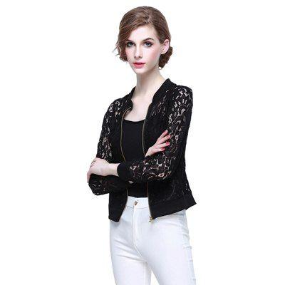 Женская кружевная куртка с длинным рукавом Ссылка: http://ali.pub/9hx4p