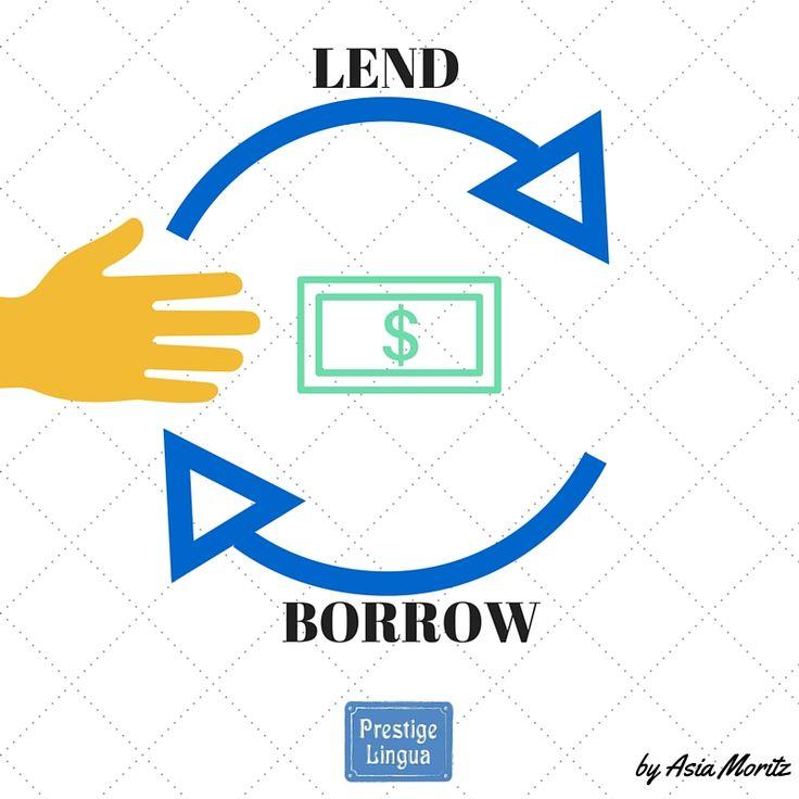 Pożyczanie nie jest proste, zwłaszcza w języku angielskim w którym musimy rozróżnić czy pożyczamy coś komuś (LEND), czy może pożyczamy coś od kogoś (BORROW). Lecz kto jak nie my służymy pomocą w zapamiętaniu tej jakże DUŻEJ i ważnej różnicy