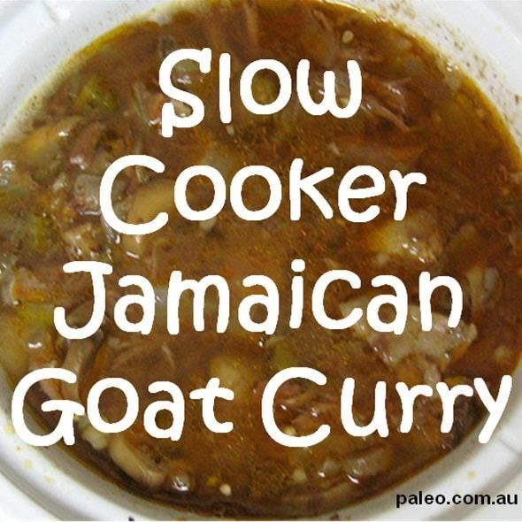paleo recipe slow cooker Jamaican goat curry crockpot dinner-min