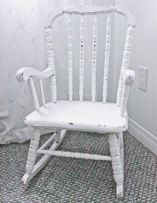 sweet tree furniture: child's Jenny Lind rocking chair
