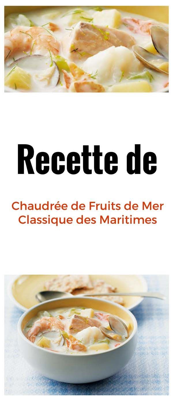 #chaudrée #fruitsdemer