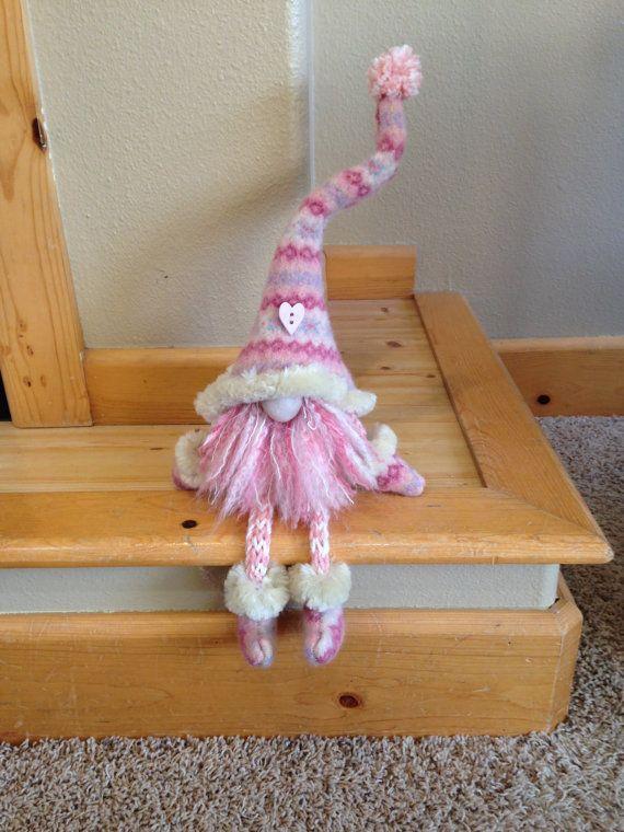 Valentine Gnome by HeidisGnomes on Etsy