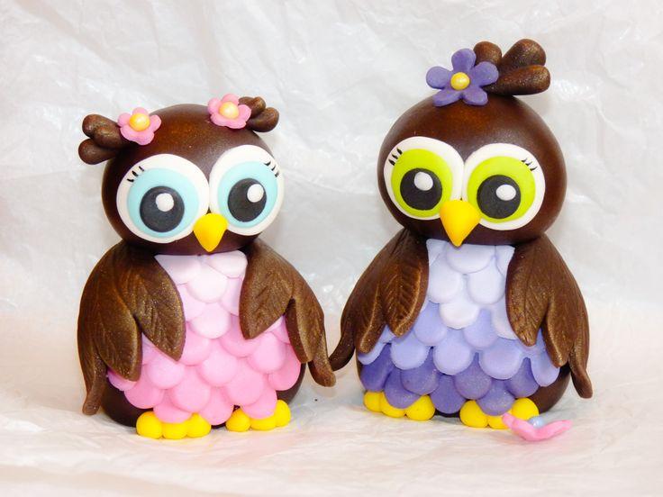 Owls - Gumpaste