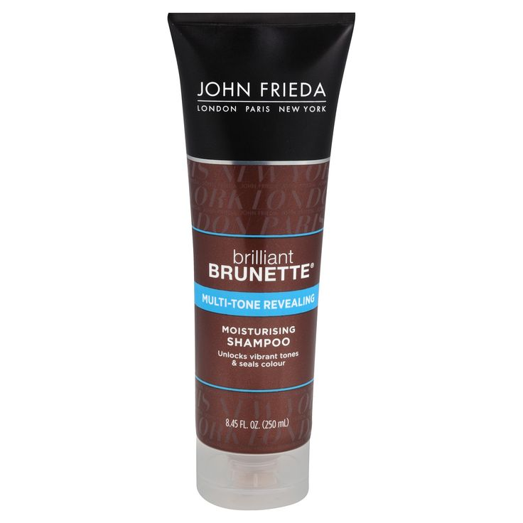 John Frieda Brilliant Brunette Moisturizing Shampoo - 8.45oz
