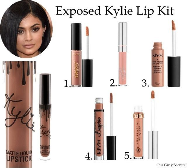 Kylie Lip Kit Exposed