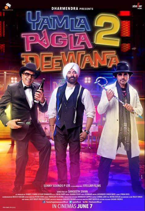 yamla-pagla-deewana-2 Bollywood Movies Sequels in 2013