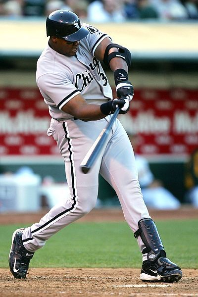 club 500.....#20  frank thomas:  2007 - chicago white sox (521)