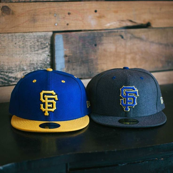 SF Giants New Era in Royal/Gold and Graphite available in-store and online. #ShopUP #UpperPlayground