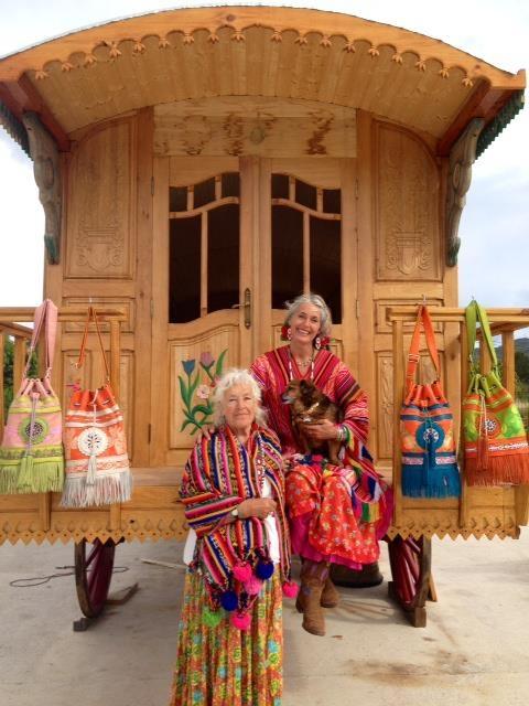 Merel Krielaart and mother (world family Ibiza)