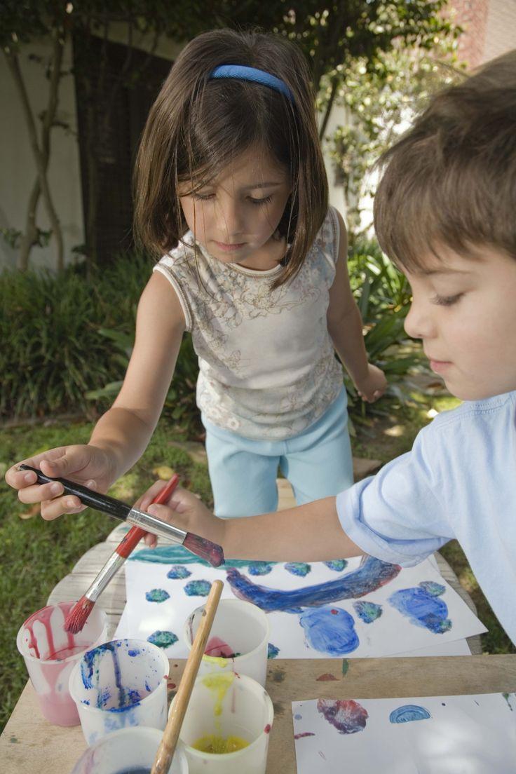 Ideias de atividades manuais para crianças em idade pré-escolar sobre Adão e Eva