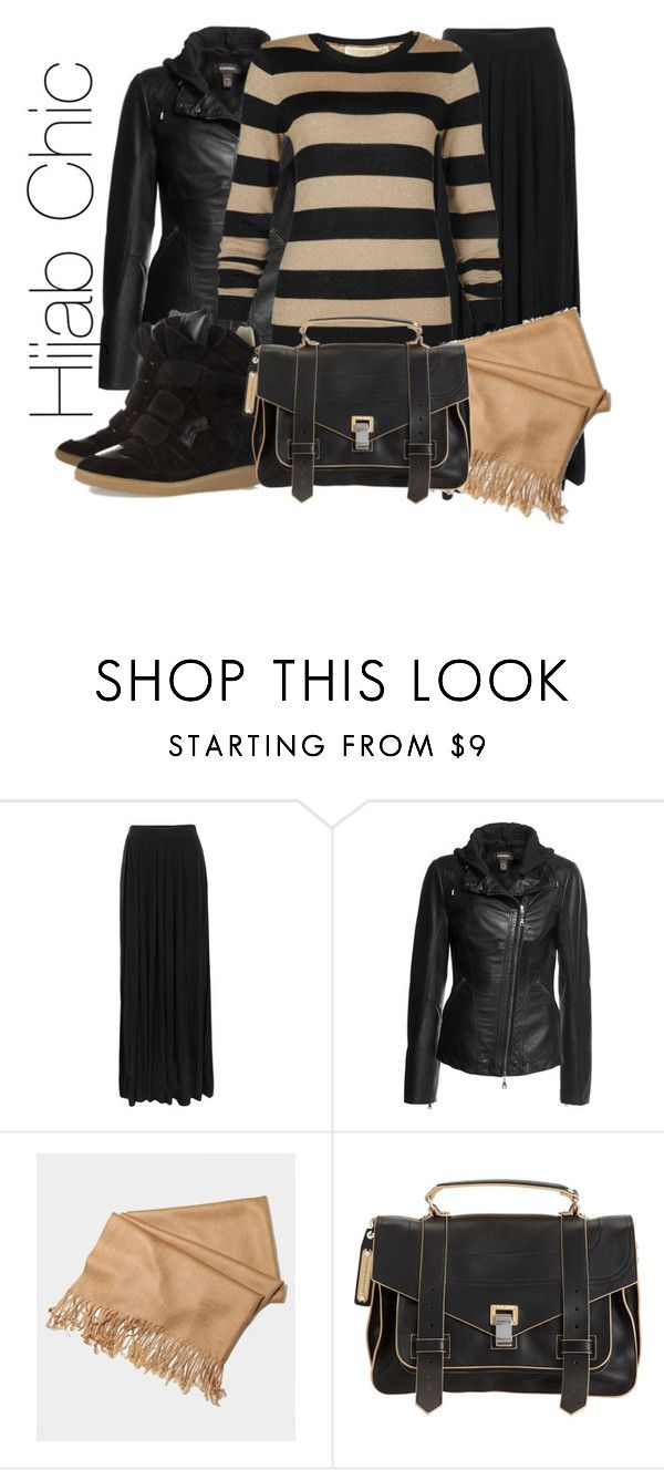 """""""hijab chic"""" by fashion4arab ❤ liked on Polyvore featuring Great Plains, Danier, MICHAEL Michael Kors, Isabel Marant and Proenza Schouler"""