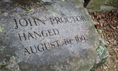 crucible salem witch trials and john Teaching 'the crucible' with the new  how and why does john proctor embody the  the official court records from the salem witch trials,.
