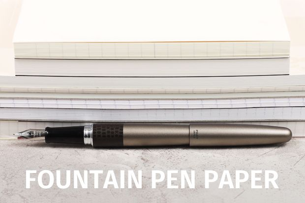 best paper for fountain pen writing The ultimate guide: best fountain pen reviews help you find your perfect pen detailed reviews, photos, videos, top 5 under 50, 100, 400 and overall value.