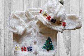 Christmas Tree Baby Sweater