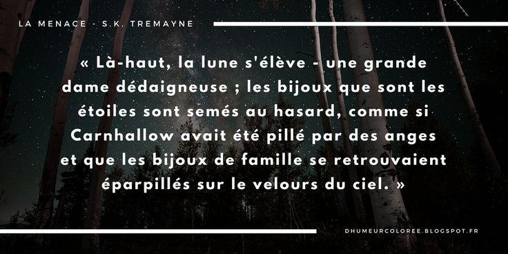 La menace, S. K Tremayne