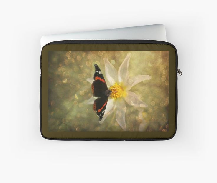Laptop Sleeve - Sun drink  by steppeland