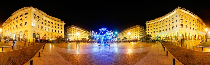 Aristotle Square - International Film Festival (Thessaloniki-Greece) via www.Thessaloniki.360.com