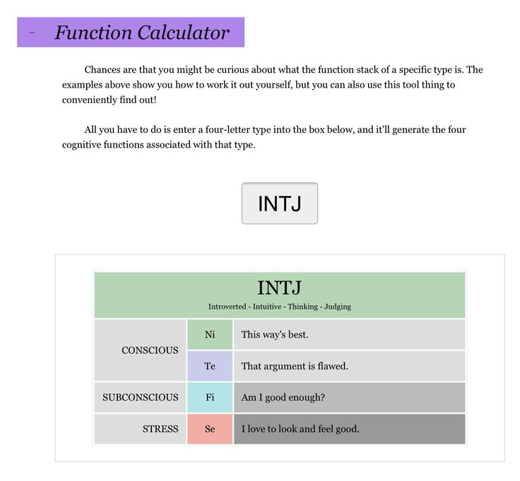 Dating site based on mbti