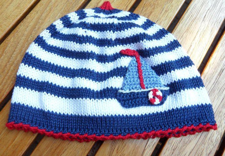 Coole Mütze 'maritim' - 100 % BW 1241 von maleBL auf DaWanda.com