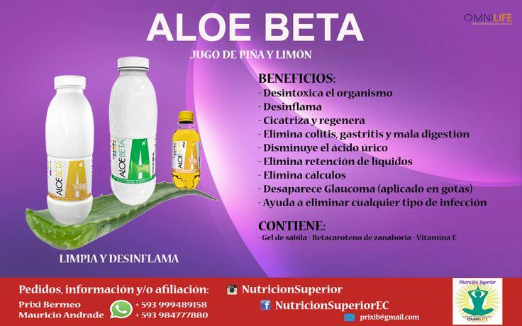 Aloe Beta - Omnilife - Detox - Aloe vera #1 del mercado