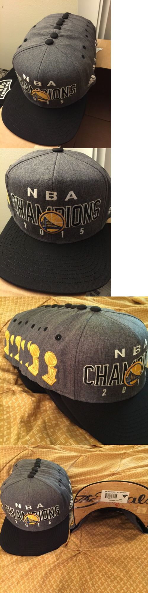 Hats and Headwear 158968: Warriors 2015 Nba Champions Adidas Snapback BUY IT NOW ONLY: $35.0