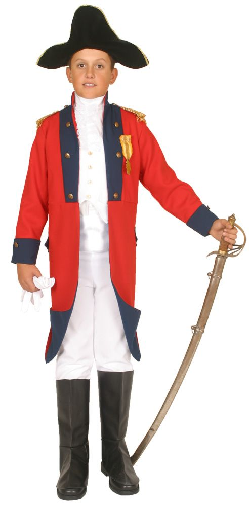 John Paul Jones Kids Costume