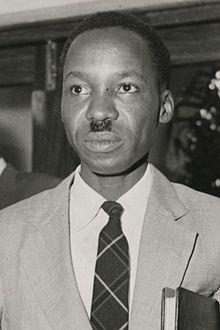 Julius Nyerere Président de la République unie de Tanzanie  (1922-1999)