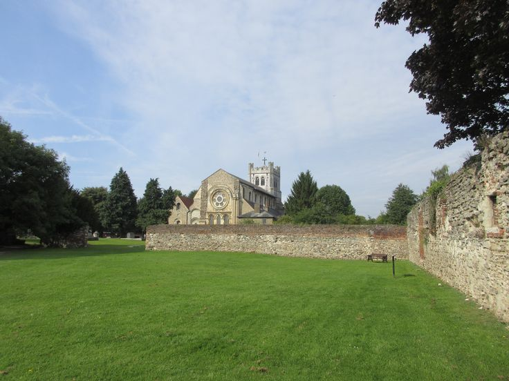 Waltham Abbey Church and remains of the larger abbey. There's been a church on this site since the 7th Century.