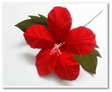 origami hibiscus flower instructions