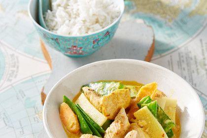 Thai Curry Erdnuss - Kokos - Hühnchen 1