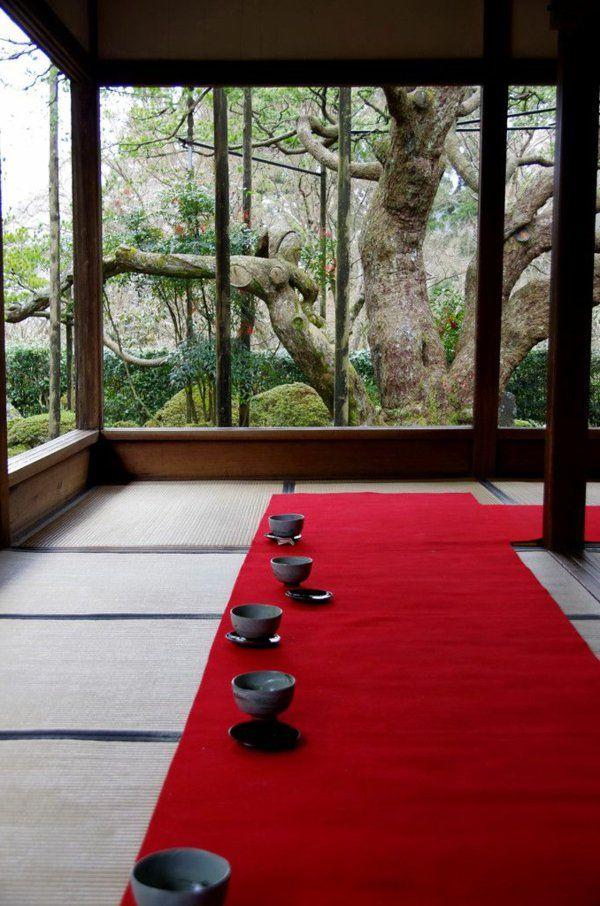 chambre pour thé japonais