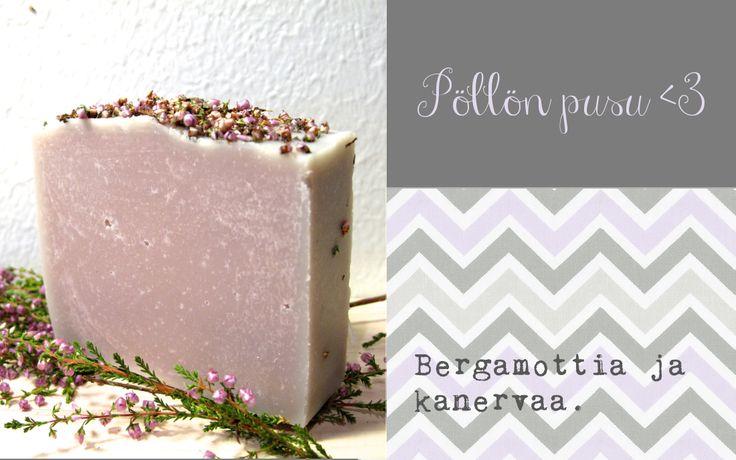 Saippua, cold process soap, Good Day Soap, luonnonkosmetiikka, Pöllön pusu