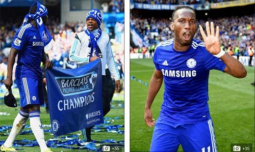 """Chùm ảnh Chelsea """"nổ tung"""" ăn mừng chức vô địch - 4"""