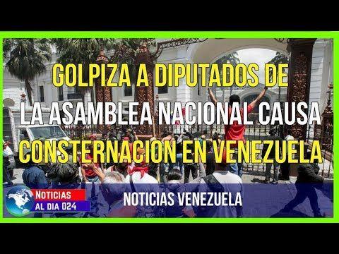 NOTICIAS AL DIA 5 JULIO 2017 | GOLPIZA A DIPUTADOS DE ASAMBLEA NACIONAL CAUSA CONSTERNACION EN VENEZUELA.  Mira la Noticia Completa en Video Aqui: https://youtu.be/sLfRjecPfD4    Cerca del mediodía manifestantes que desde temprano protestaban en varios puntos del centro de Caracas ingresaron a los patios del Congreso luego de que el jefe del destacamento de la Guardia Nacional del Palacio Legislativo les autorizó el ingreso.   #venezuela #noticiasinternacionales #noticiasdevenezuela