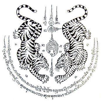 Das berühmte Sak Yant Tattoo ist in Thailand eine…