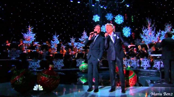 Michael Bublé & Rod Stewart  -  Winter wonderland (2012) (+playlist)