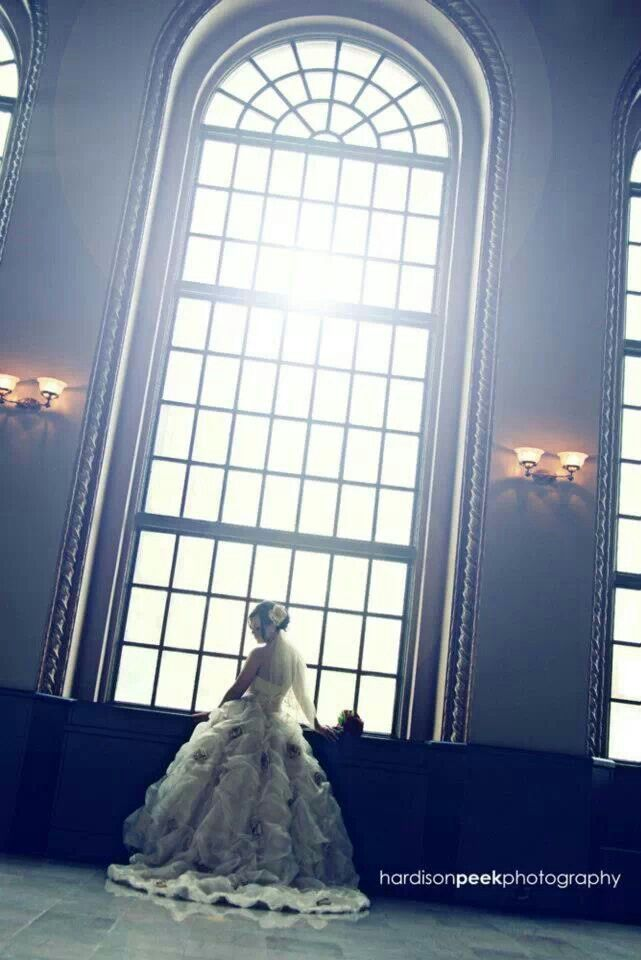 Beautiful Bridal Photo In The Sunlit Room At Ben Lomond Suites Historic Hotel Ogden