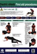 Electric Shock: First Aid Procedures Poster - free download