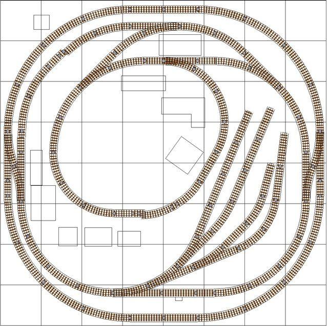 4x8 O Gauge Layout Plans – Jerusalem House