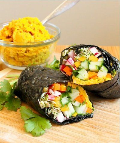 Big Fat Nori Wrap by Eat Spin Run Repeat
