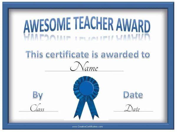 Free Certificate Of Appreciation For Teachers Customize Online Teacher Awards Teacher Certification Teacher Appreciation Printables