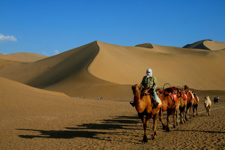 Desierto de Dunhuang.