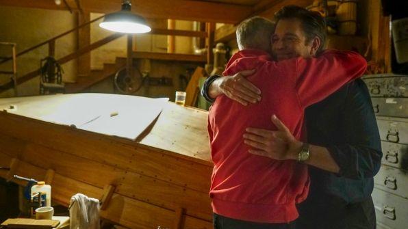 Mark Harmon chose Gibbs' final gesture to DiNozzo.