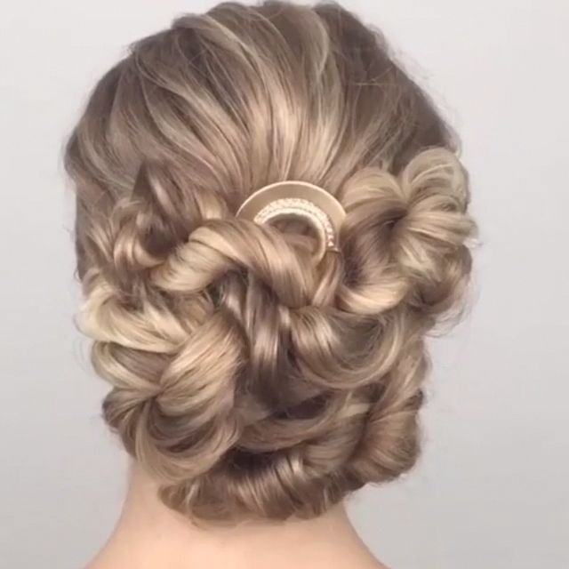 Beautiful Hairstyle !!! By:@hetherchapmanhair #braidedhairupdos
