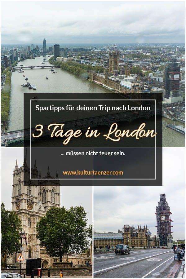 3 Tage in London – Spartipps für deinen Trip nach London