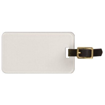 Create BLUSH PINK Monogram Photo Personalised Luggage Tag - pink gifts style ideas cyo unique