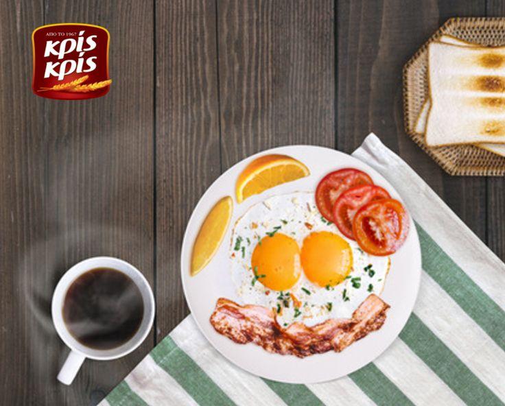 Παραδοσιακό αγγλικό πρωινό, μόνο με Κρις Κρις!