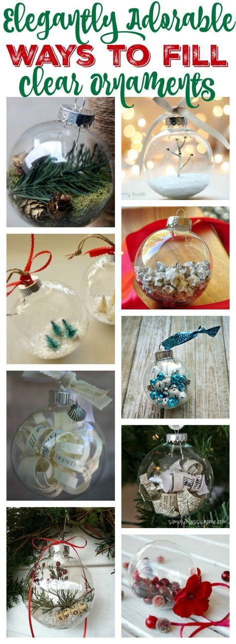 ▷ 1001 + Ideas for DIY Christmas Gifts and Festive Decoration