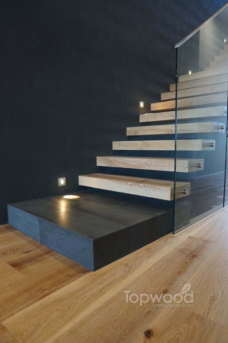 Best 25 floating stairs ideas on pinterest cantilevered Floating stairs
