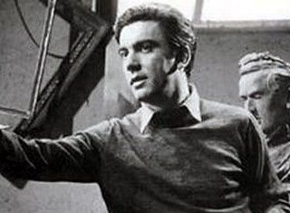 """Dimitris Horn(1921-1998)was one of the leading lights of the New Wave.He led a charmed existence.Yet,as the years rolled on,his Olympian talent looks made him a star.Together,with Eli Lambeti helped break many taboos of Greek society,both on film and in real life.Theatre was his great love.""""What they say about the actor having to get under the skin of the part is wrong;if that was the case we would all be performing the same way.It is the part which gets under the actor's skin,"""" he said."""